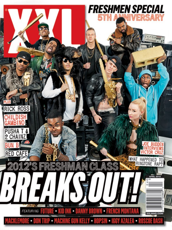 xxl freshmen cover e1330450966566 The XXL 2012 Freshman Class