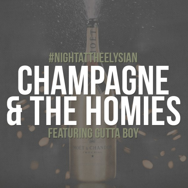 "Naledge: ""Champagne and The Homies"" (prod by Tony Baines)"
