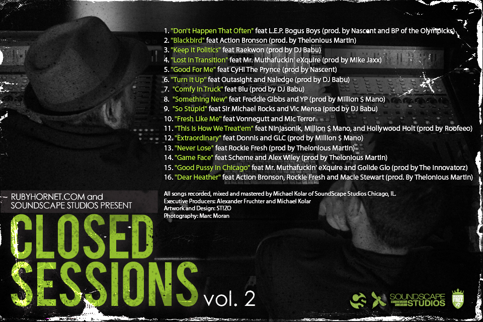 CS2 coverBACK [Artwork x Tracklist] Closed Sessions Vol. 2
