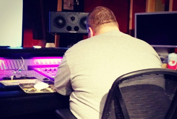 bronson1 [Photos] In Studio with Action Bronson