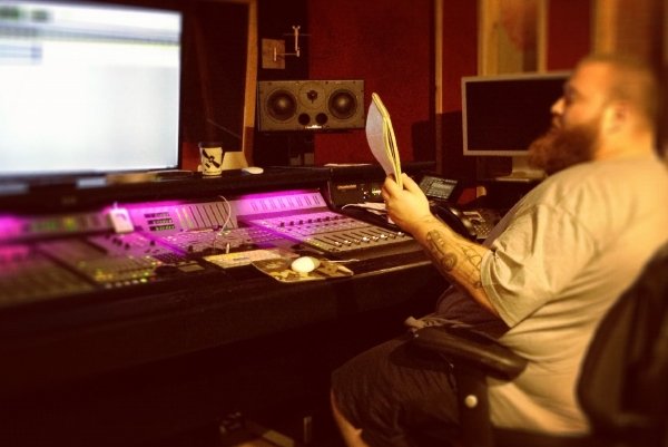 bronson3 [Photos] In Studio with Action Bronson