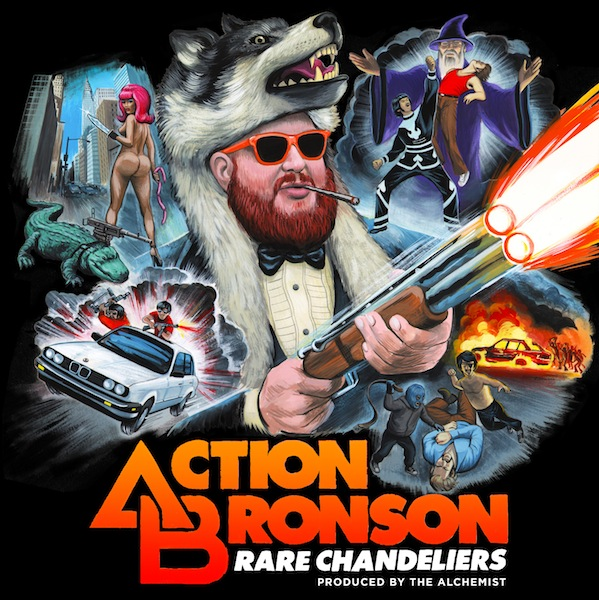 ActionBronson RC Action Bronson: Rare Chandeliers (Artwork x Tracklist)