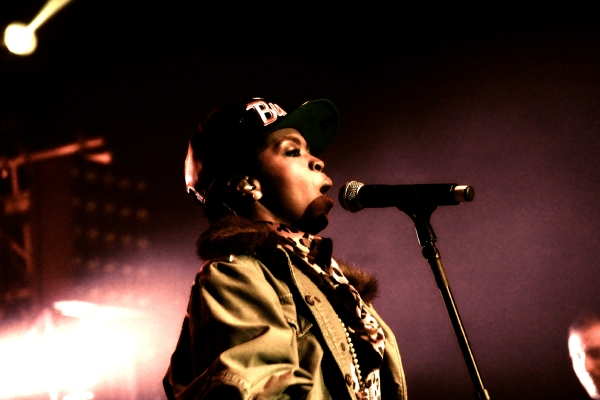 Hill6 [RH Photos] Nas & Lauryn Hill Live @ The Congress