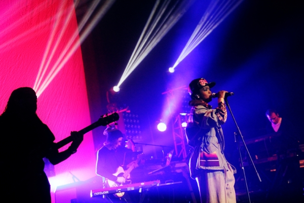Hill7 [RH Photos] Nas & Lauryn Hill Live @ The Congress