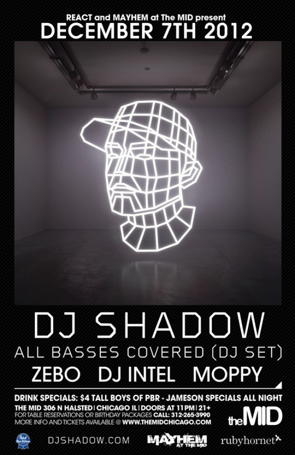 djshadow dec7th12 e1353431179824 [RH Events] DJ Shadow Live @ The Mid
