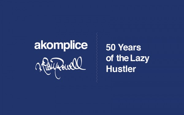 rickypowell cover e1352930823721 Akomplice x Ricky Powell: 50 Years of The Lazy Hustler