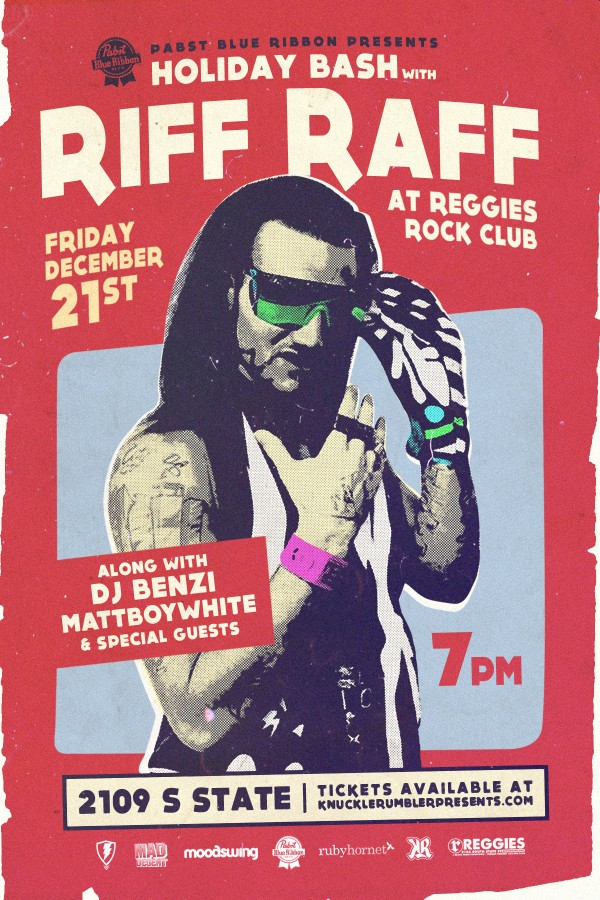 [RH Events] Holiday Bash With Riff Raff