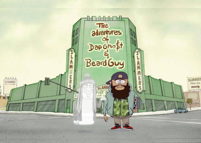 Dap Ghost and Beard Guy Vol. 0