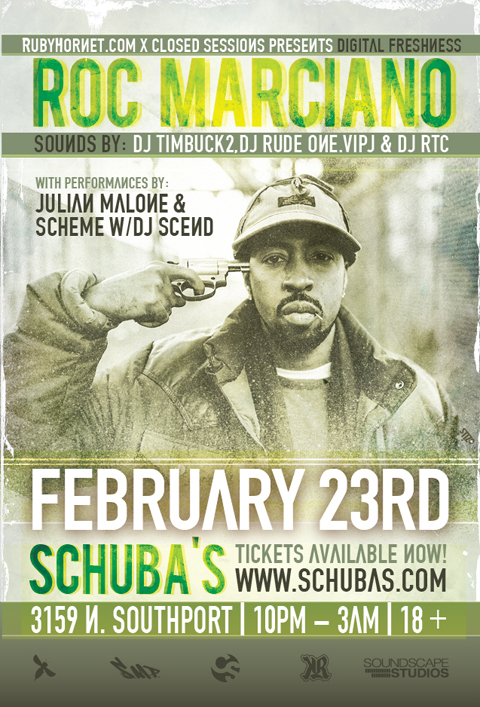Digital freshness marciano [RH Events] Digital Freshness with Roc Marciano, Julian Malone, & Scheme