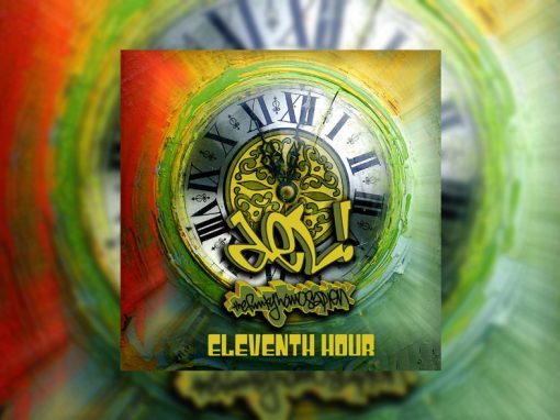 del the funky homosapien eleventh hour album cover