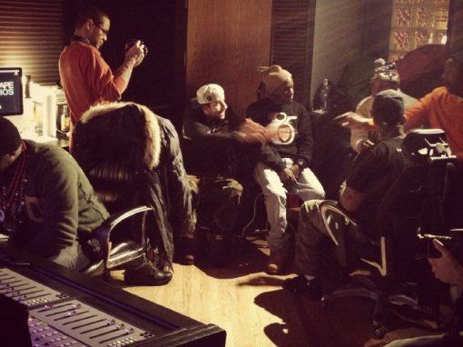 Mr. Muthafuckin' eXquire In The Studio
